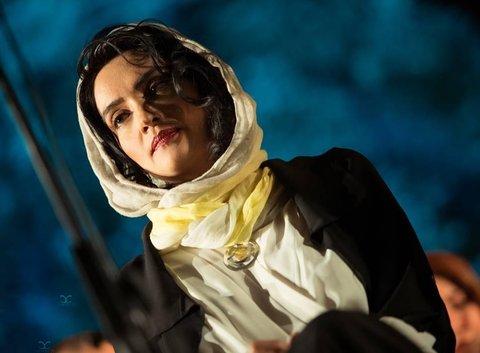 خانم بازیگر معروف ایرانی در کنار همسر خوانندهاش! + عکس