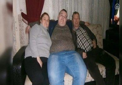 101 کیلو کاهش وزن پس از شکست عشقی (+عکس)