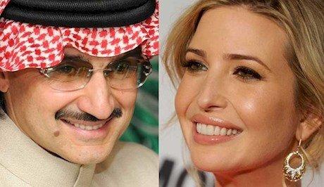 شاهزاده سعودی: دختر ترامپ، دوست من است!