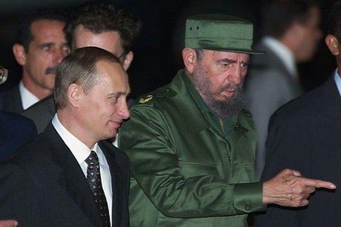 پوتین: کاسترو، نماد یک دوره کامل از تاریخ جهان است