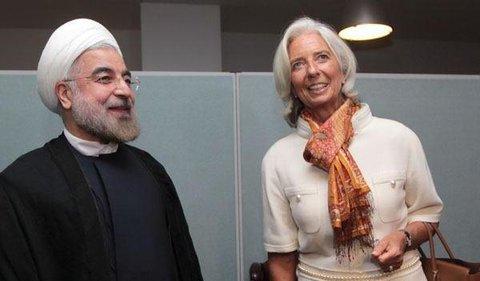 روحاني و رييس صندوق بينالمللي پول
