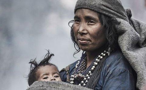 تصاویری جالب از قبیله ای در اعماق جنگل های هیمالیا