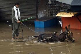 سیل در لاهور پاکستان