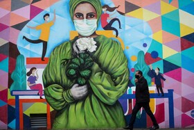 نقاشی دیواری در سائوپائولو برزیل