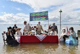 اعتراض حامیان محیط زیست به عدم توجه به گرمایش زمین در انگلیس