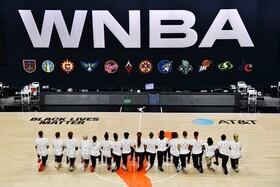 بازیکنان تیم بسکتبال واشنگتن میستیک در اقدامی اعتراضی تیشرت سفید با هفت نقطه سیاه به نشانه هفت گلوله ای که از پشت به جاکوب بلیک توسط پلیس شلیک شده پوشیده اند