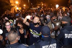 تظاهرات حامیان حقوق سیاهان در واشنگتن