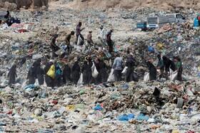 زباله گردها در نجف کربلا
