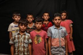 کودکان آواره سوری در ادلیب