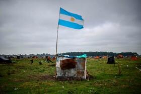 منطقه ای زاغه نشین در بوینس آیرس آرژانتین