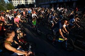 مسابقه دوچرخه سواری در اکراین
