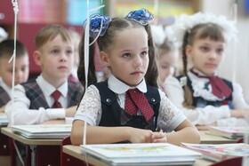 بازگشایی مدارس در روسیه