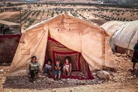 آوارگان سوری در ادلیب
