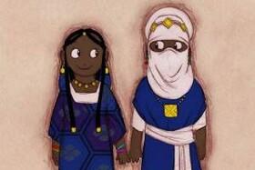 قبلیه ای که مردان آن با حجاب هستند اما زنانشان بی حجاب! عکس