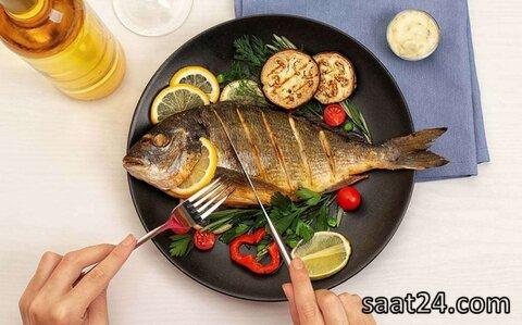 خواص  ماهی برای چشم