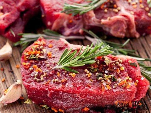 خواص گوشت گاو