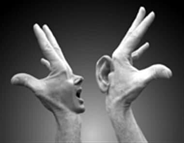 دیدن و نشنیدن و نگفتن درد را درمان نمیکند