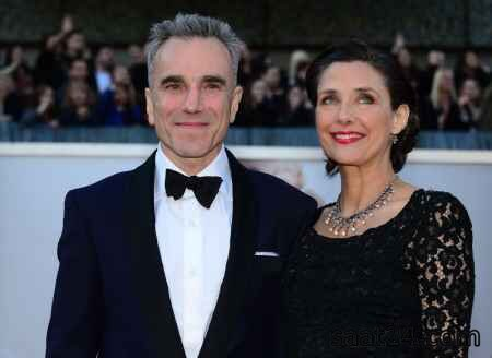 دنیل دی لوئیس و همسرش
