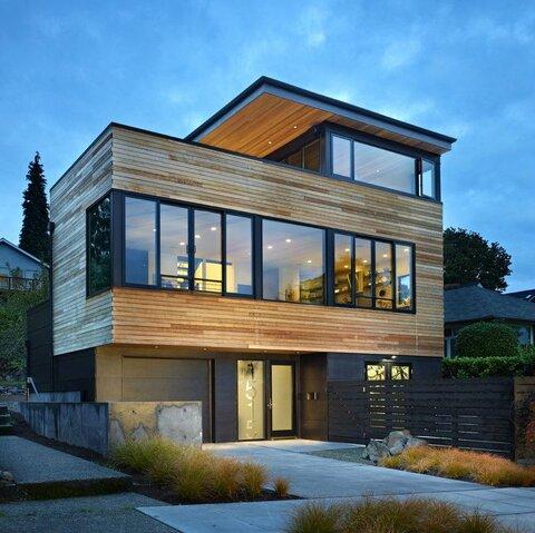 تاثیر شیشه بر معماری نوین