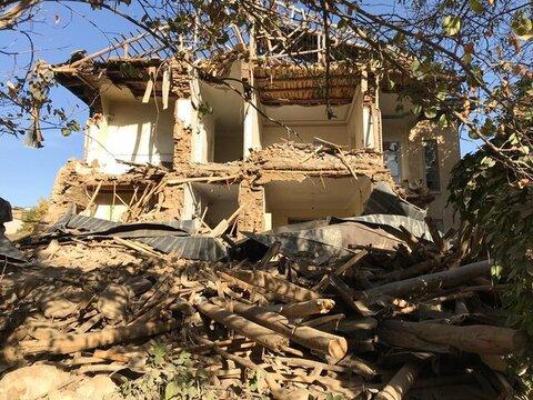 تخریب سریالی عمارتهای تاریخی در همدان